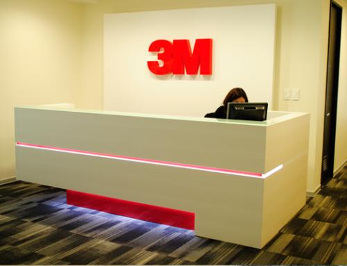 Recepción 3M oficinas Concepción